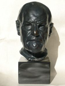 Classic 85% Bronze Resin Freud Bust