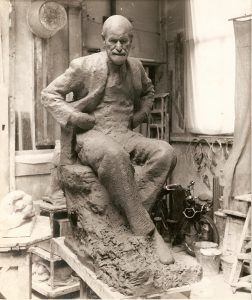 Seated Freud