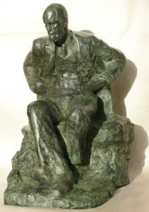 85% Bronze Resin Seated Freud