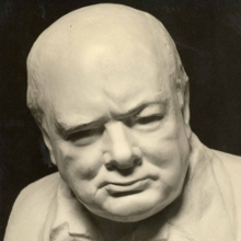 Nemon's iconic bust of Churchill