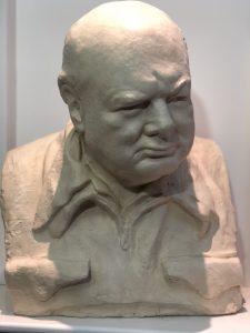 Plaster Original of Blenheim Churchill Bust